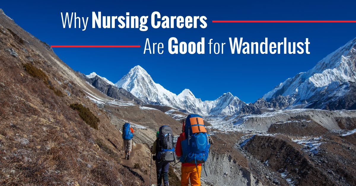 Love travel? Become a nurse!