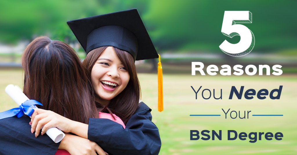 If you're an RN, here are 5 reasons you should consider an RN-BSN program.