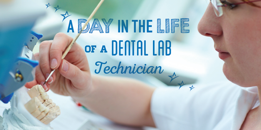 If you've wondered what a dental lab tech's daily routine looks like, we have the answer right here!