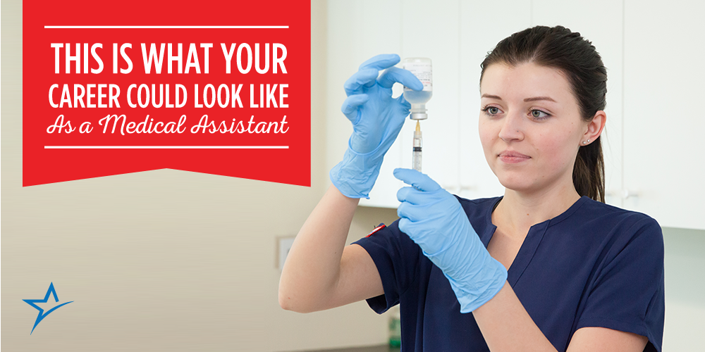 A Typical Medical Assistant Career Track