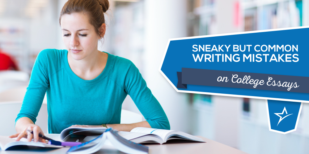 common mistakes in writing essays