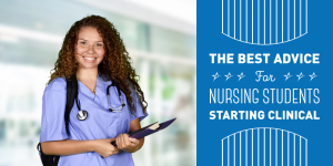 Advice for student nurses starting clincal