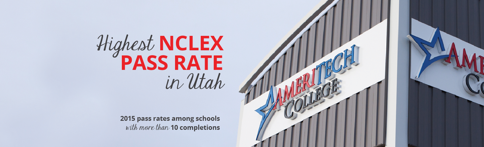 Ameritech College of Healthcare RN Program NCLEX Pass Rates