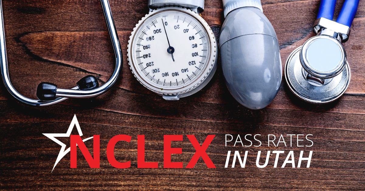 NCLEX pass rates are higher than average at Ameritech College of Healthcare and in Utah