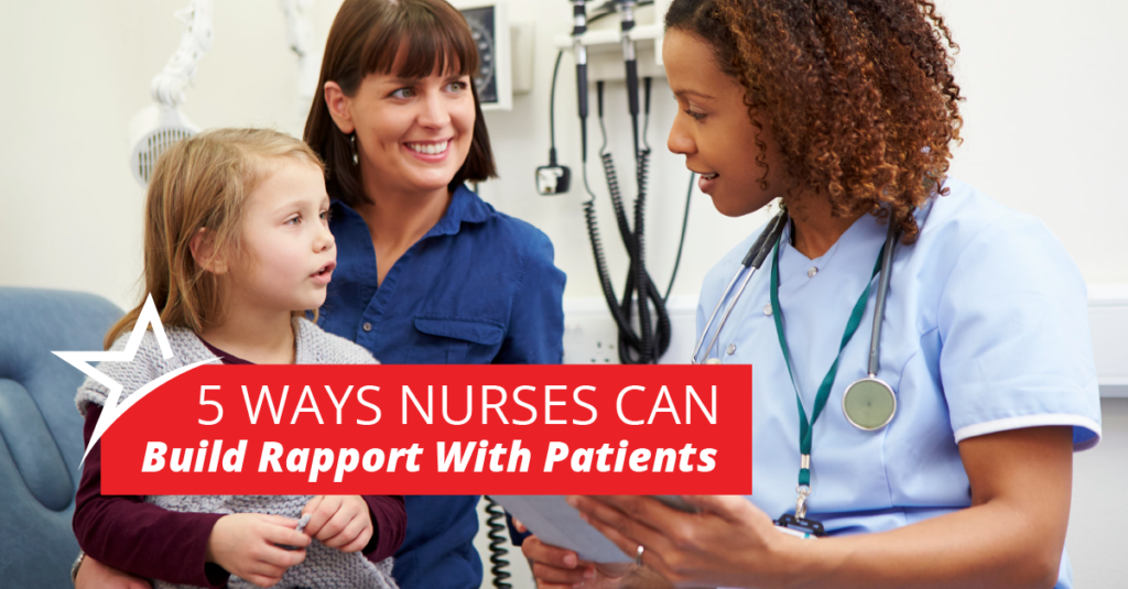 Nurses and patients need a strong relationship