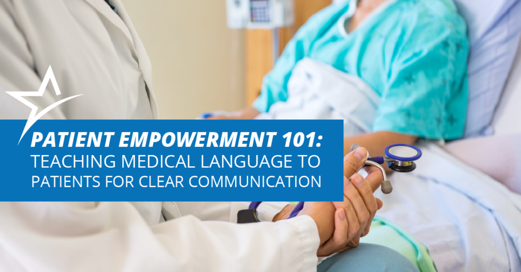 Clear communication is important for healthcare professionals