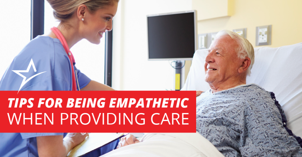 Empathy is important for quality healthcare