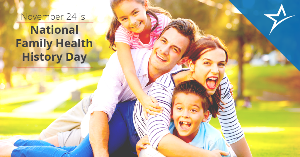 Celebrate National Family Health History Day at Thanksgiving