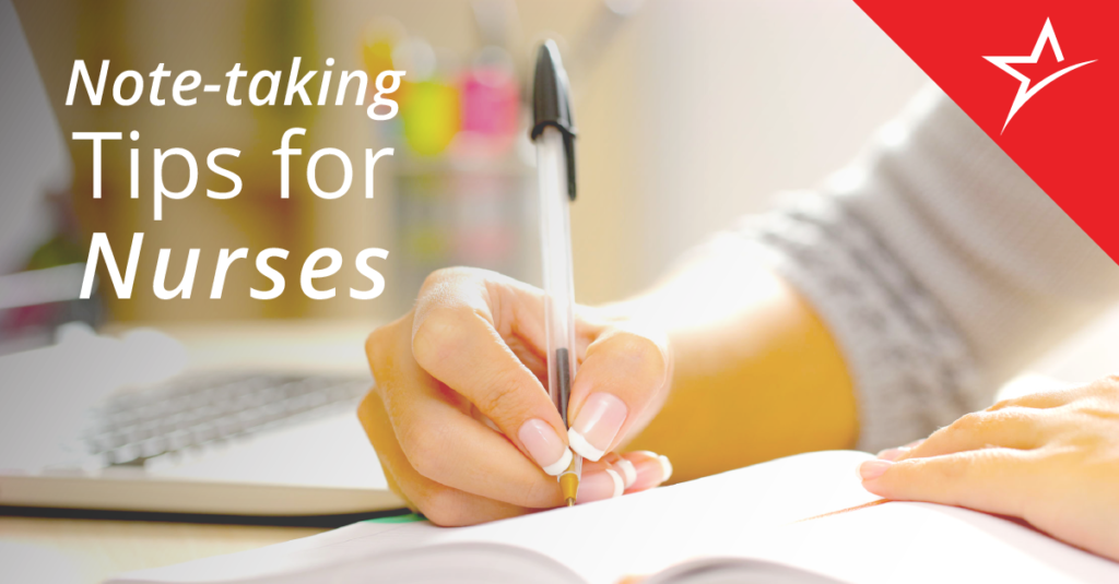 How Nursing Students Can Take Better Notes