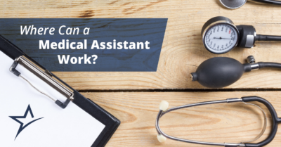 Where can a Medical Assistant work