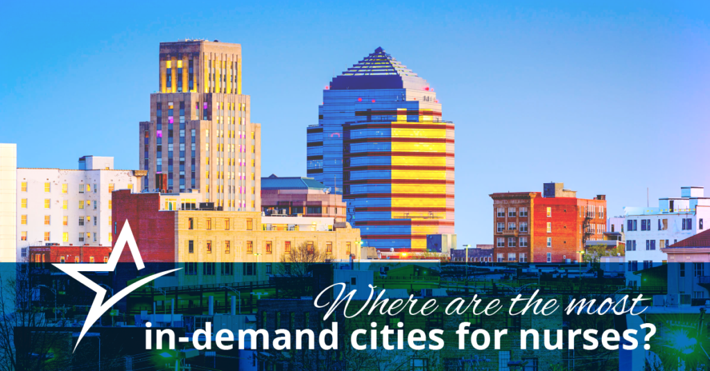 The 5 Most In Demand Cities For Nurses