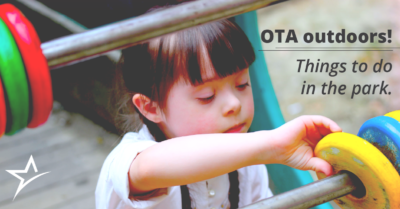 Learn six ways OTAs and their patients can have a fun (and therapeutic) day at the park.