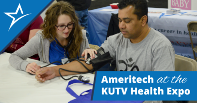 As participants in KUTV's 2 Your Health Expo in Utah, Ameritech was able to connect with potential students and community members.
