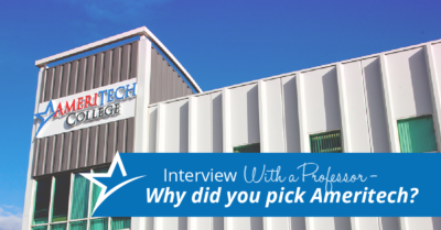 Dr. Melissa Popovich is Ameritech's BSN program director, and she brings a wealth of advice on continuing your education.