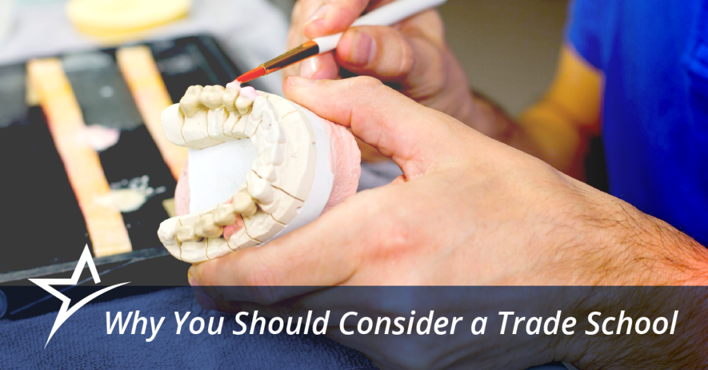A trade school could provide the education and expertise you need to start your career.