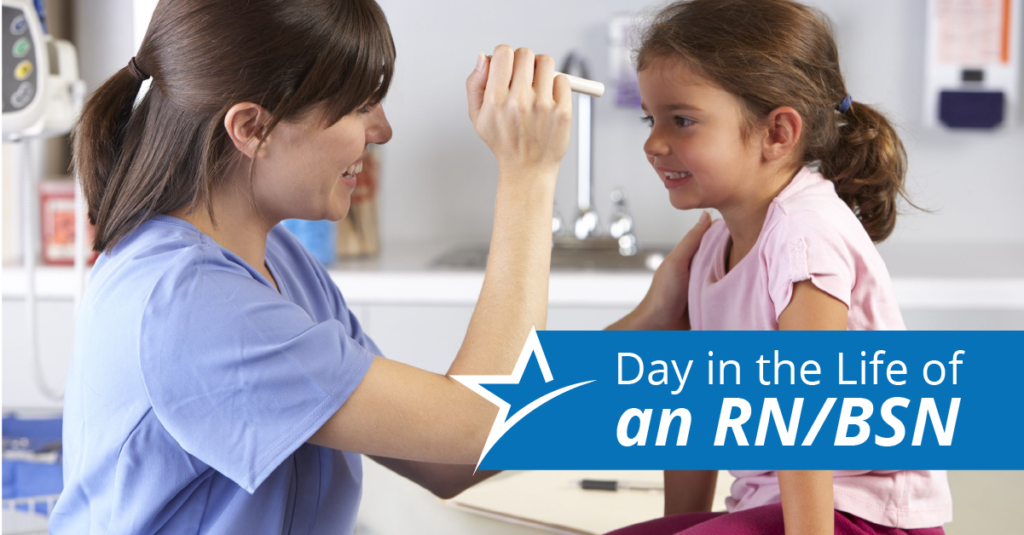 There are no typical days if you're a nurse, but here are a few things you can expect as an RN/BSN.