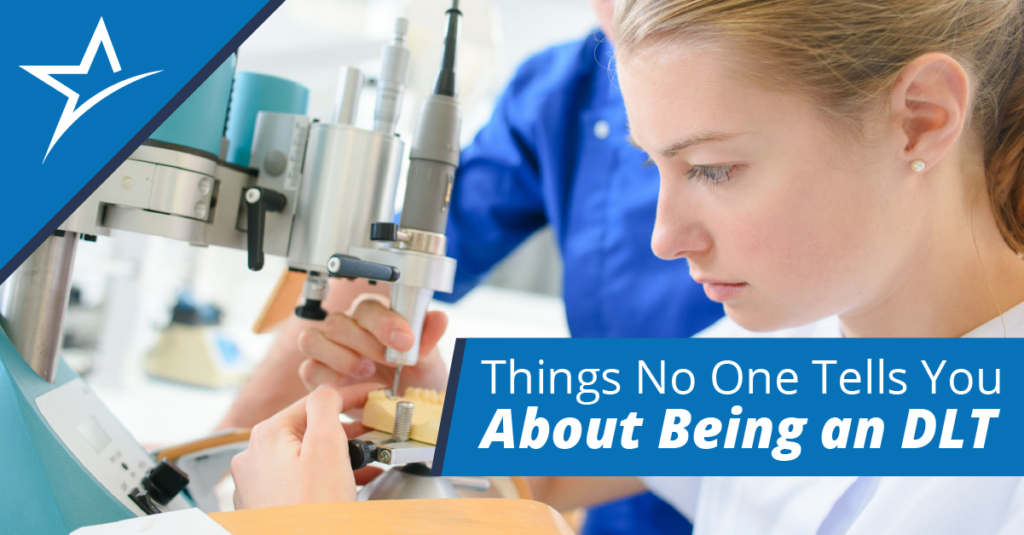 Dental laboratory technicians draw on creativity and skill in their craft. Here are four surprising things about job.