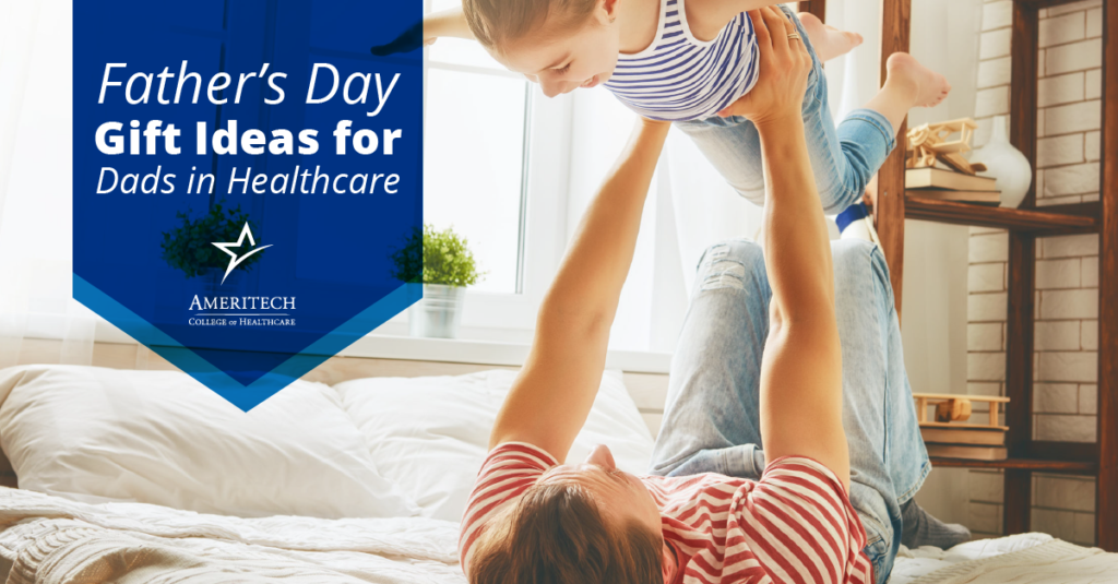 Father's Day is almost here! Here are some ideas for what to get the dad in your life who works in healthcare.