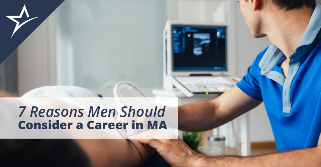 Medical assistants are the core of any healthcare system, and the field needs more men to keep up with demand.