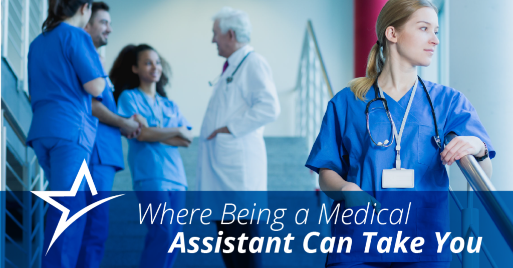 Becoming a medical assistant is a great way to get into healthcare. But after you get that first job, what's next?