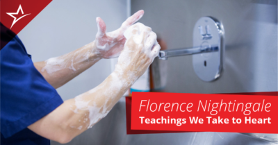 Florence Nightingale founded modern nursing well over a century ago, but her teachings nevertheless remain relevant.