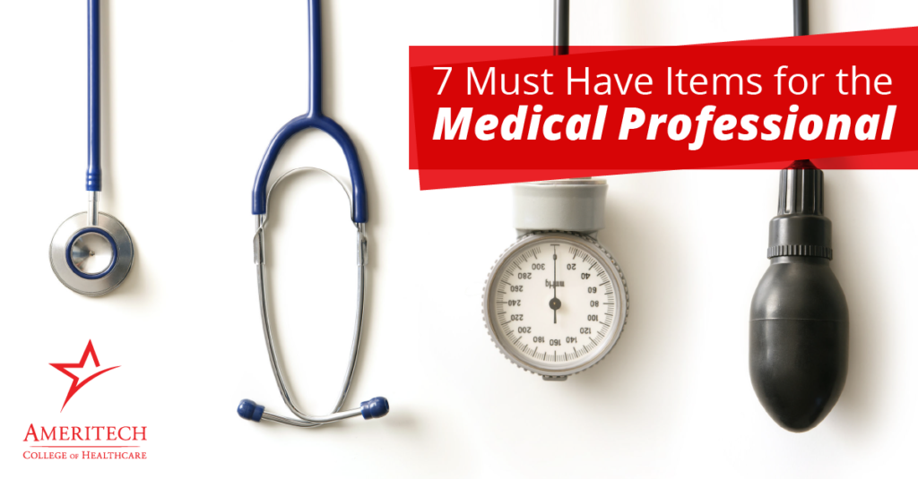 Healthcare pros don't go into their shifts empty-handed. These seven items are must-have gear for any shift.
