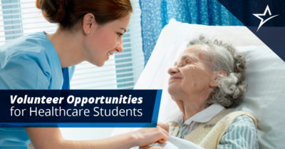 Don't wait until you get your degree to become a healthcare volunteer. Take action while you're still a student.