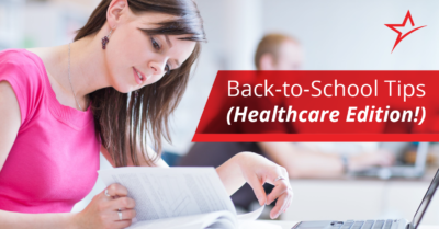 Going back to school as a healthcare student can often be stressful and surprising. Survive (and thrive!) with these tips.