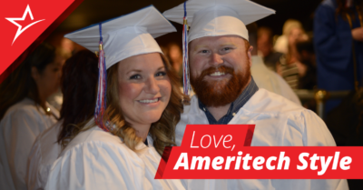 One pair of married nurses met at Ameritech. Learn how Brooke and Dax met in our nursing program and are building a life together.