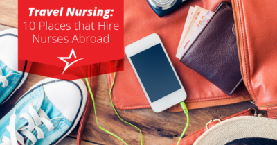 Being a nurse is an opportunity to provide care to others, both at home and abroad.