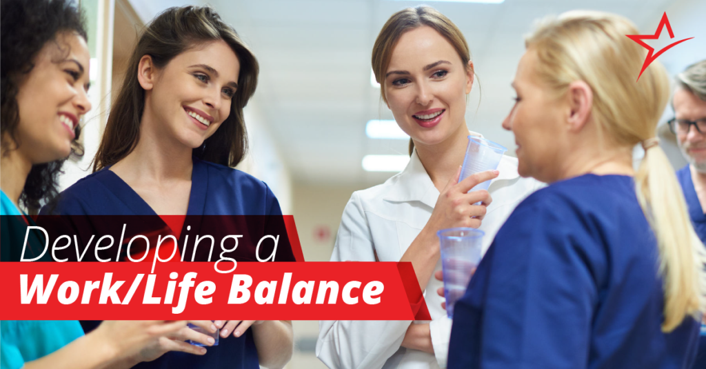 Work-Life balance is always necessary, but it's especially important for healthcare students and professionals.