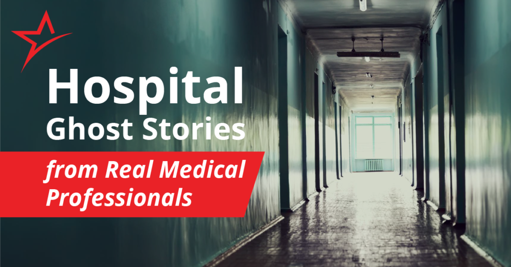 Happy Halloween! Many fear the hospital. That fear has given rise to bone-chilling tales of ghostly terror!