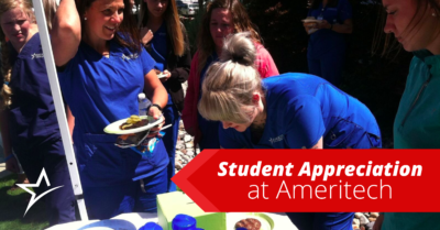 More than anything else at Ameritech, we appreciate our students. Here's what we enjoy about each of our programs.