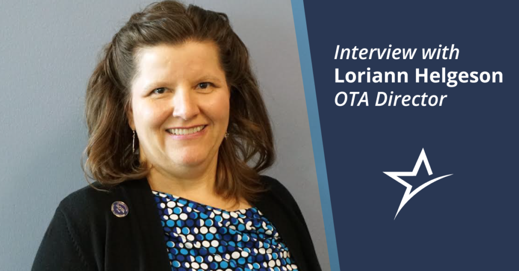 Loriann Helgeson knows occupational therapy. We talked to her about her experience and bringing it to Ameritech.