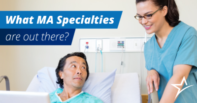 Much like other healthcare professionals, medical assistants have a wide range of specializations.