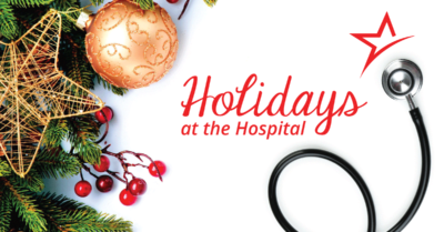 Holidays at the hospital can be hard, but see how hospital workers can be a source of holiday joy for their patients.