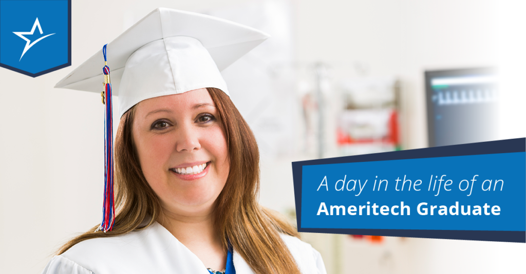 Pursue a career in healthcare by following these steps after graduating from Ameritech.