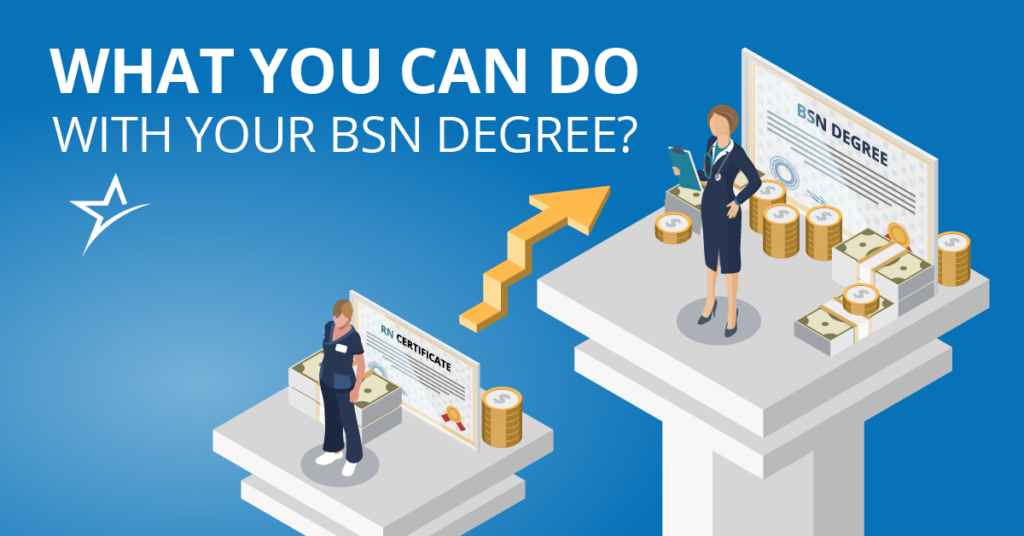 Getting a BSN doesn't mean you study for the sake of studying. Learn about the many things you can do with a bachelor's in nursing.