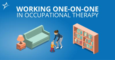 Find out what working one-on-one with clients is like for occupational therapy assistants.